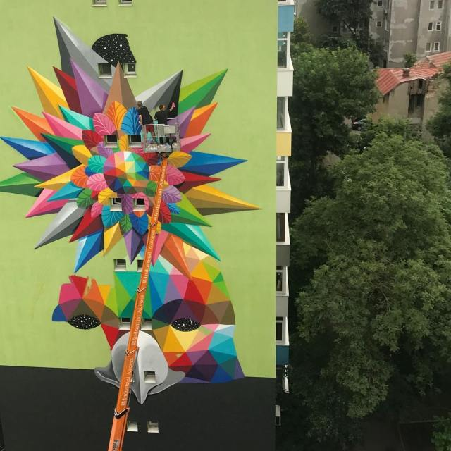 Okudart @Bucharest, Romania