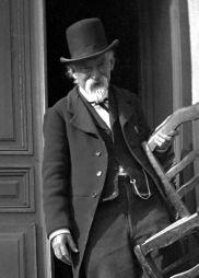 Paul Cézanne, 13 aprile 1906 - Fotografia di Gertrude Osthaus