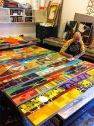 Rex Ray. Collage su larga scala