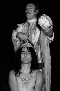 Salvador Dalí e Alice Cooper, 1973