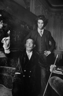 Salvador Dali e Yves Saint Laurent