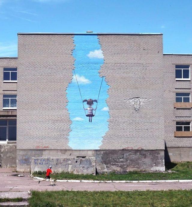Seth Globepainter @Luhansk, Ukraine