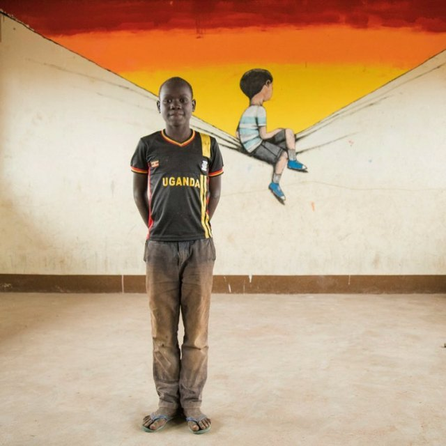 Seth Globepainter @Uganda