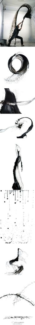 Shinichi Maruyama pratica la sua arte kusho, calligrafia giapponese nel cielo.