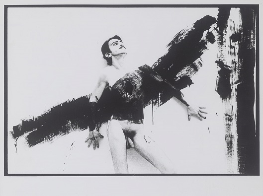 "Tibor Hajas: ""Húsfestmény / Flesh Painting VII"", 1978"