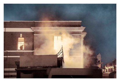 Tracey Moffatt, Window Man (Passage Series)