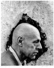 1956. Arnold Newman, Ritratto di Jean Dubuffet