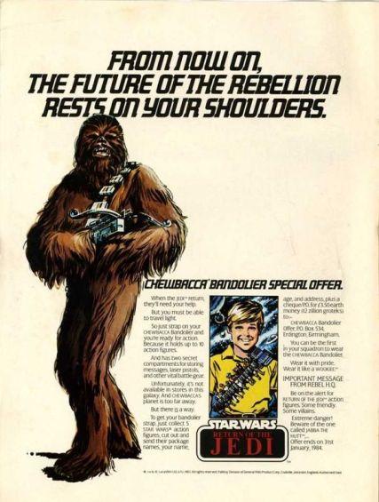 1983 - Star Wars Chewbacca
