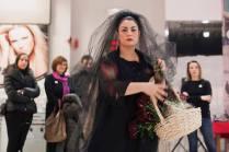 Monica Mura - Me Ama. No me Ama. (M'ama. Non m'ama) 2015. Come un amore innocente può trasformarsi in un amore tossico. Performance contro la violenza di genere. Deputazione di Pontevedra. #ViolenzaZero. (video / fotografia / performance / paesaggio sonoro) 20 min