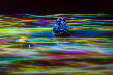"""A Forest Where Gods Live"" by TeamLab"