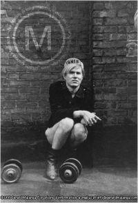 Andy Warhol by Gerard Malanga. NYC