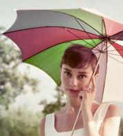 Audrey Hepburn, 1955. Fotografia di Per-Olow Anderson