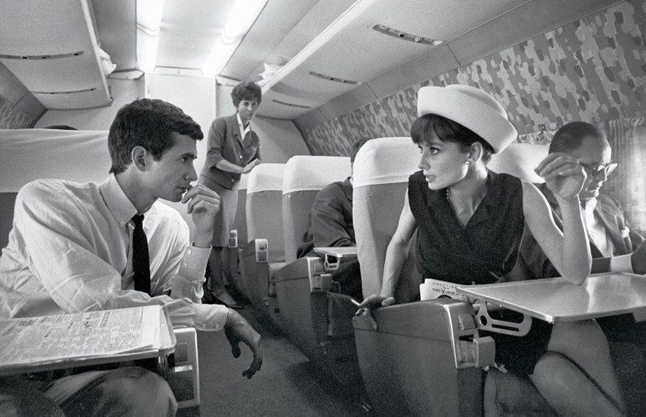 Audrey Hepburn con Anthony Perkins fotografati da Pierluigi Praturlon, 1962