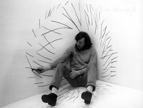 Zbigniew Warpechowski - Drawing in the Corner, 1971
