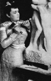 Camille Claudel a lavoro