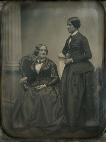 Charlotte Cushman e Matilda Hays, una coppia di donne fotografata nel 1850
