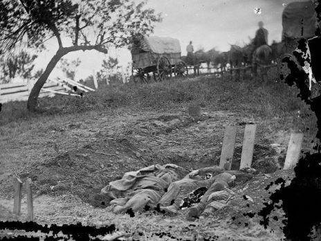 Confederati morti a Gettysburg