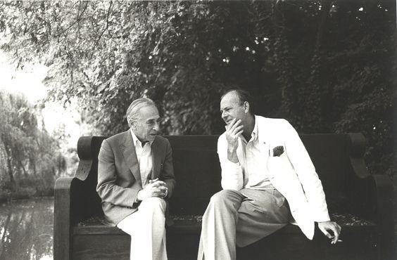 Cy Twombly e Leo Castelli