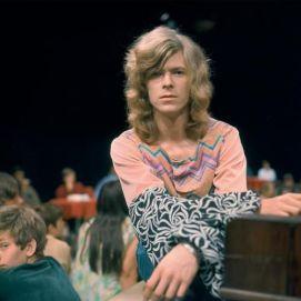 David Bowie fotografato da Nico Van Der Stam, 1971