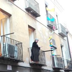 """Dirimpettai"", performance di Giuseppe Salaris e Carlo Valle - Funivie Veloci 2017"
