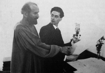 Egon Schiele e Gustav Klimt