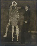 Egon Schiele - Fotografia di Anton Josef Trcka, 1914