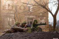 Fotografia colorata della Seconda guerra mondiale in Russia