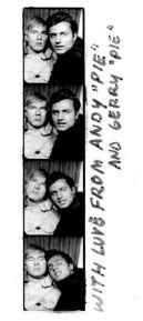 Fototessere con Andy Warhol e Gerard Malanga. Gerard è un poeta ed è stato assistente di Andy a lungo nella Silver Factory