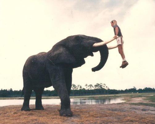 """""""Gioco con il mio amico elefante Peter"""", anni '80"""