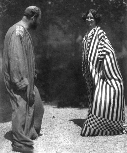 Gustav Klimt ed Emilie Flöge, 1910