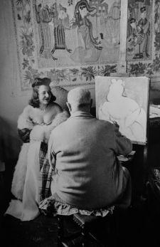 Henri Matisse. Fotografia di Henri Cartier-Bresson