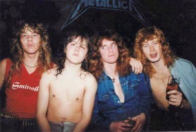 I Metallica nel 1982