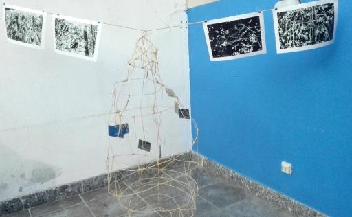Installazione di Art La Rue - Funivie Veloci 2017
