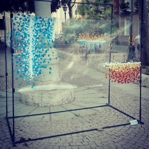 Installazione di Daniele Gregorini - Funivie Veloci 2017