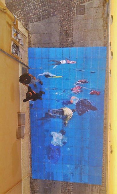 Installazione di Gianluca Nieddu - Funivie Veloci 2017 (Image courtesy of the artist)