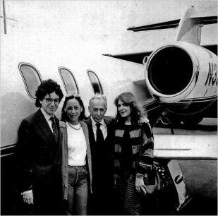 Jeffrey Deitch, Barbara Jakobson, Leo Castelli, e Laura Grisi, 1988