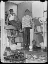 L'artista giapponese Foujita fu una figura centrale nell'ambiente artistico parigino del 1920