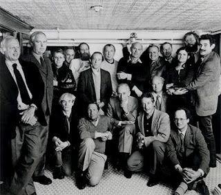 Leo Castelli e il suo cerchio di artisti all'Odeon NYC nel 1982