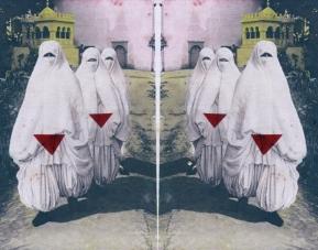Leonardo Boscani - Series 1 N° 2058 Women Harem - Wallpaper dimensioni variabili