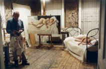 Luc Tuymans nel suo studio