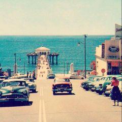 Manhattan Beach, California, anni '50