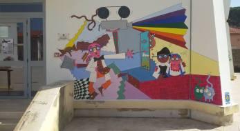 Massimo MAP Piga - Murales scuole