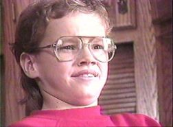Matt Damon at age 12