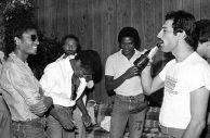 Michael Jackson e Freddie Mercury, 1983