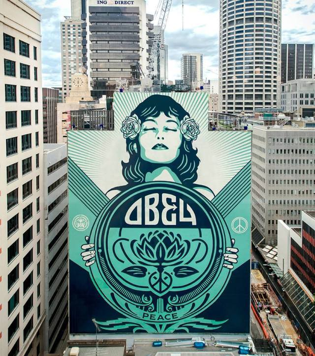 Obey Giant @Sydney, Australia