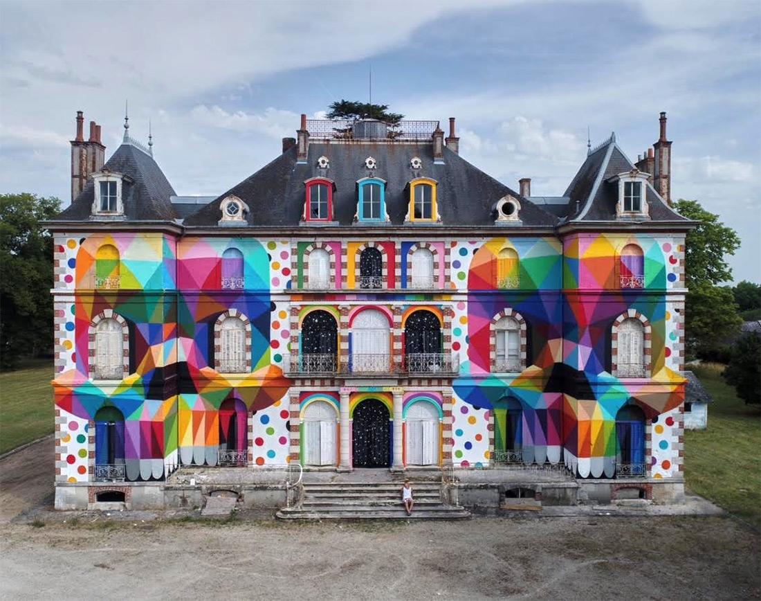 Okudart @Château, France