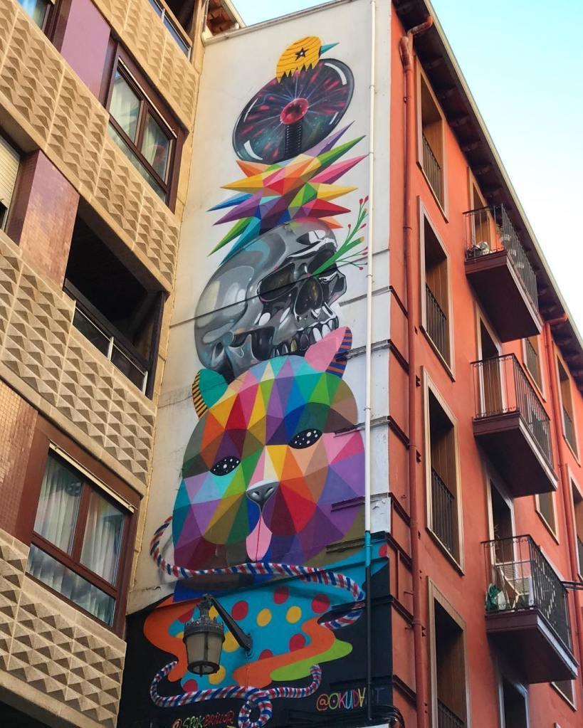 Okudart & Spok @Santander, Spain