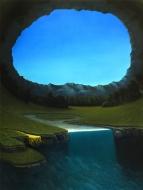 Paolo Pibi - Orbita sinistra - acrylic on canvas (100x70 cm 2015)