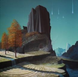 Paolo Pibi - Time lapse - acrylic on canvas (50x50 cm 2014)