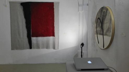 Paratissima 2017 - Gabriella Locci (sx) e Said Messari (dx)